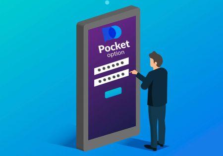 Cara Membuka Akaun Dagangan di Pocket Option