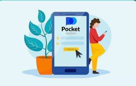 Cara Mendaftar dan Log Masuk Akaun dalam Pocket Option Broker Trading