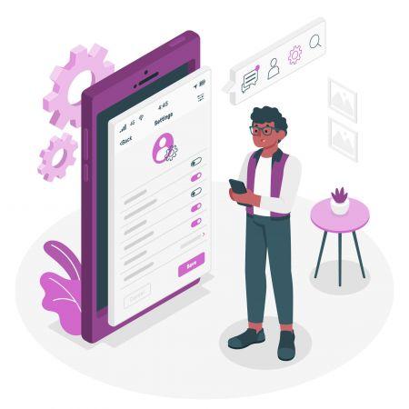 cara Menggunakan Tetapan Profil di Pocket Option